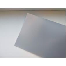 Матовая зеркальная пленка Silver Matt